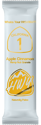 CALIFORNIA 1- Apple Cinnamon - 20mg CBD (8x bars per box)