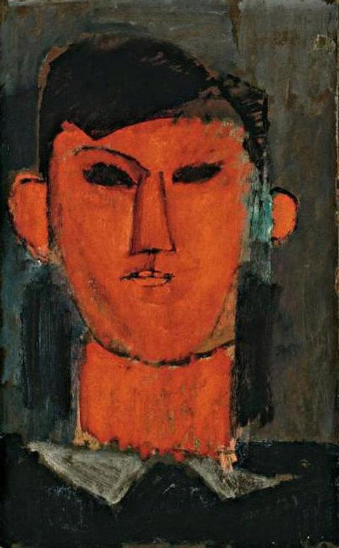 Amedeo Modigliani [Public domain], via Wikimedia Commons