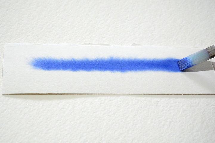 Soft watercolor edge