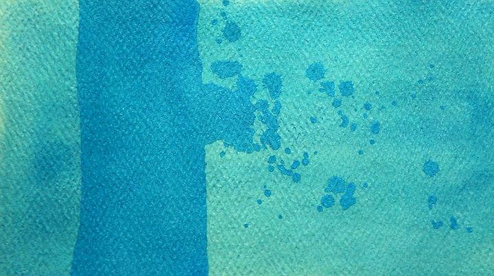 Watercolor Techniques - Opaque Gouache Contrast