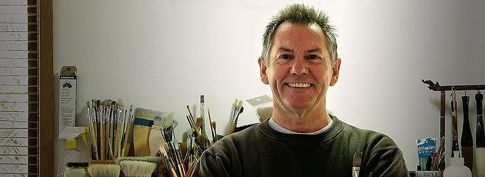 John Lovett in Studio