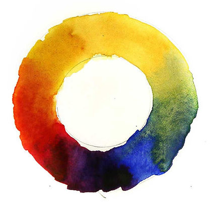 watercolor tips for beginners - colorwheel