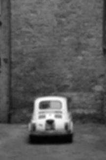 Fiat 500 Bambino showing Dominance of Size
