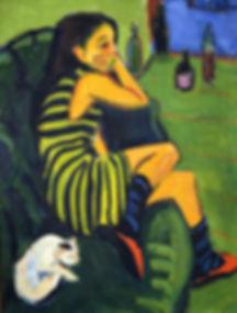 Ernst Ludwig Kirchner [Public domain], via Wikimedia Commons