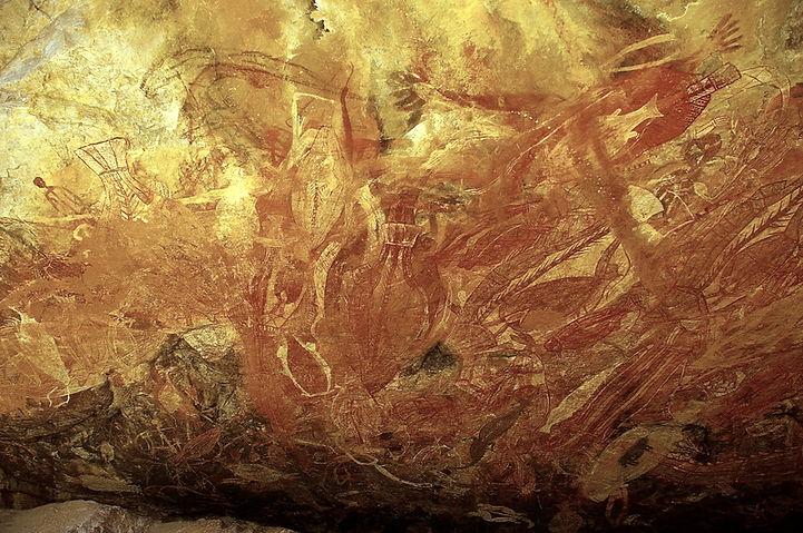 Aboriginal Rock Art - Arnhem Land NT Australia