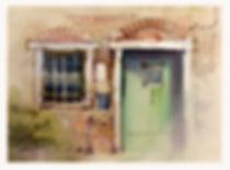 Venetion Doors painted on location