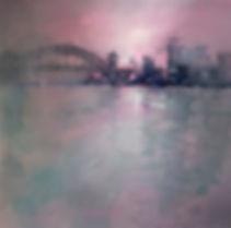 Grey Watercolor Painting