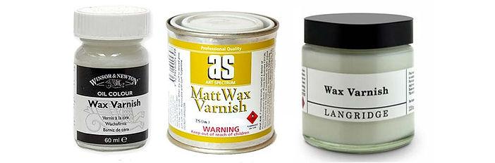 Wax painting Varnish