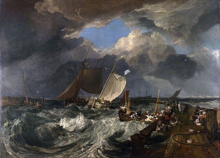 J. M. W. Turner [Public domain], via Wikimedia Commons