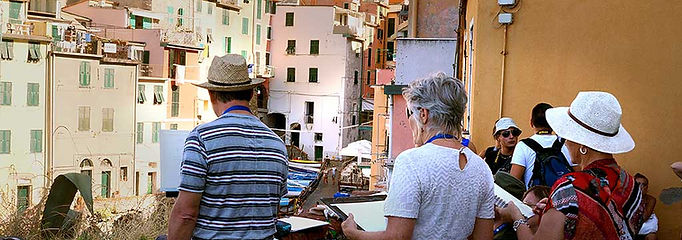 Painting on Location Cinque Terre