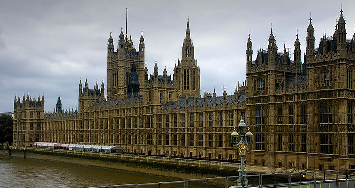 Houses of Parliament -London, Charles Barry – 1840 Dominant Horizontal Direction