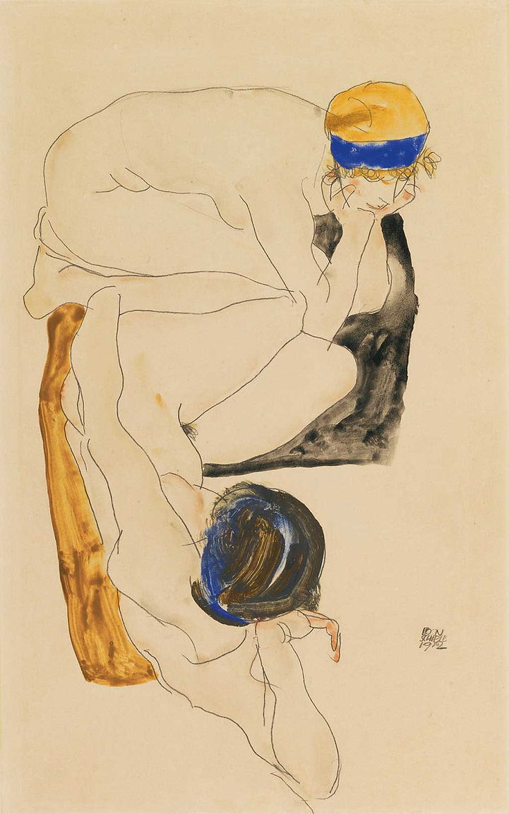 Egon Schiele [see page for license], via Wikimedia Commons