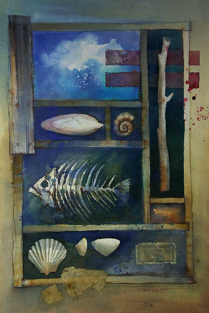 What to Paint - Ideas from wandering the foreshore