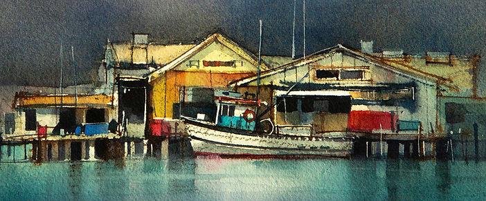 Watercolor Detail