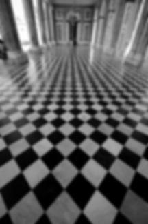 Tessellated Floor, Versailles, France © John Lovett