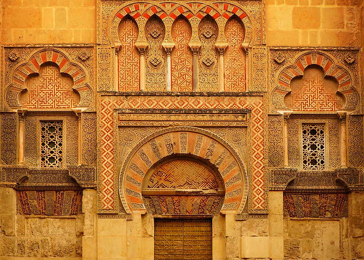 Cathederal of Cordoba - repeating patterns create texture