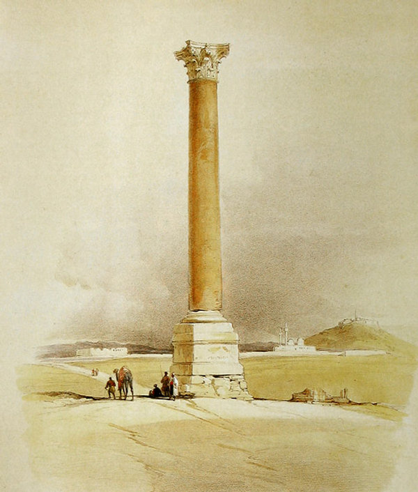 David Roberts [Public domain], via Wikimedia Commons