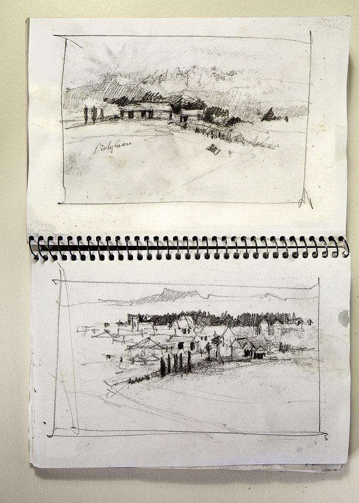 Sketch book thumbnails