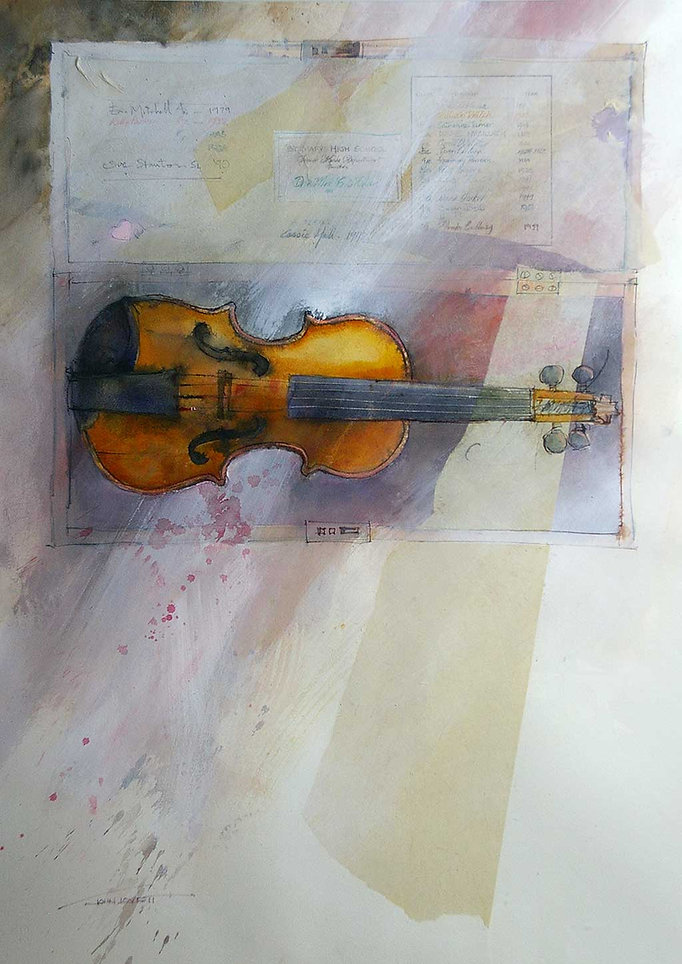 Paganini to The Pogues - What to Paint © John Lovett