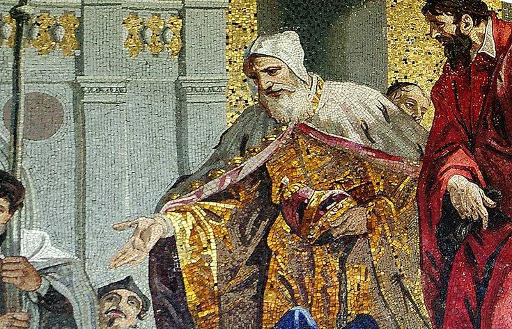 St Marks Cathedral Mosaic, Venice showing Harmony of Texture   © John Lovett