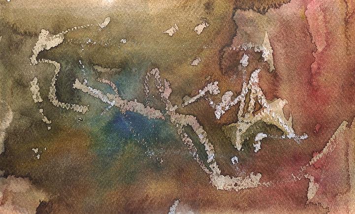 Advanced Watercolor Techniques - Wax Resist