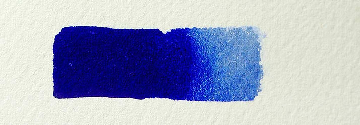 French Ultramarine Blue Watercolor