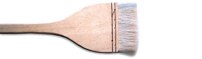 """3"""" Hake Brush (Goat Hair)"""