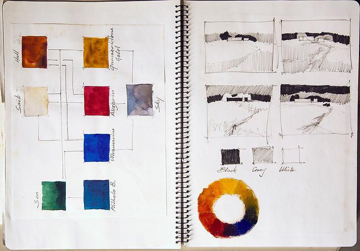 studio work book