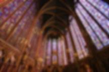Sainte-Chapelle, Paris showing Repetition of Line © John Lovett