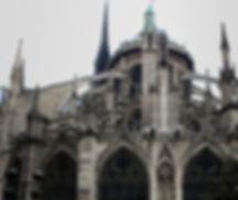 Verticle Direction Notre Dame de Paris – Eastern Facade