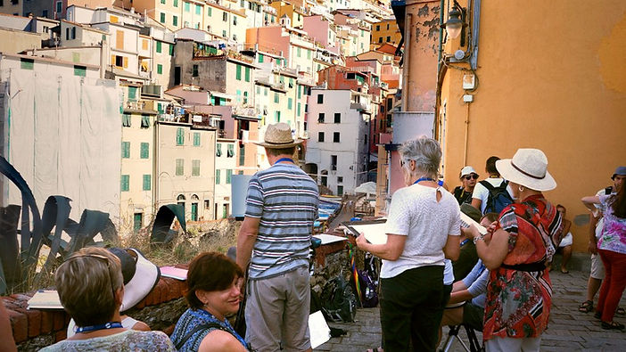 Painting Workshop - Cinque Terre, Italy