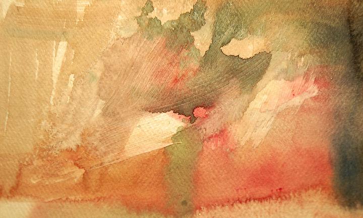 Watercolor Techniques - Gesso Underpainting