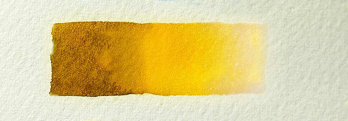 Indian Yellow Watercolor