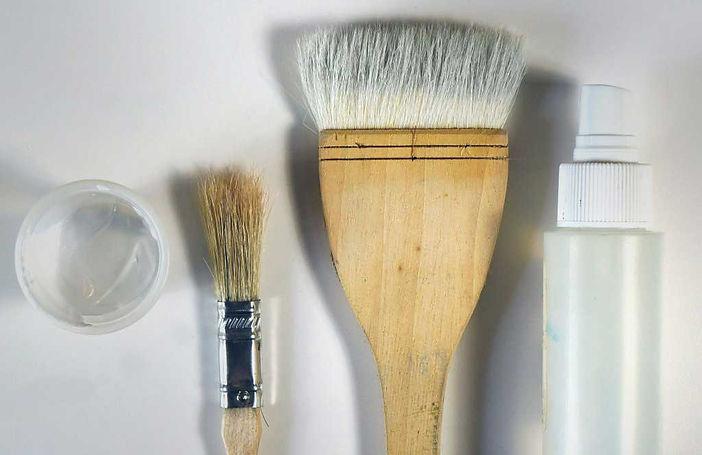 Materials for Gesso Glazes