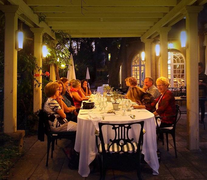 Workshop Dinner Le Pigonnet Aix en Provence