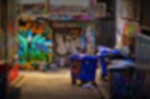 Hosiers Lane Melbourne © John Lovett