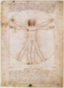 Vitruvian_Man_by_Leonardo_da_Vinci Public Domain via Wiki Commons