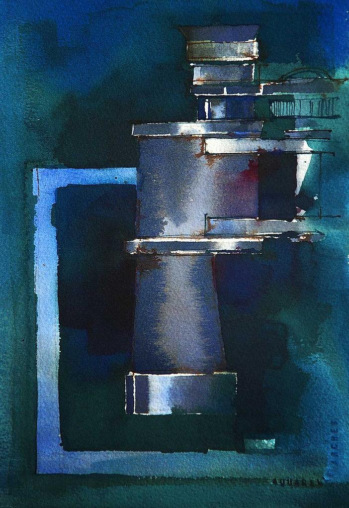 What to Paint - Binoculars © John Lovett