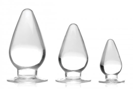 Triple Cones Anal Plug