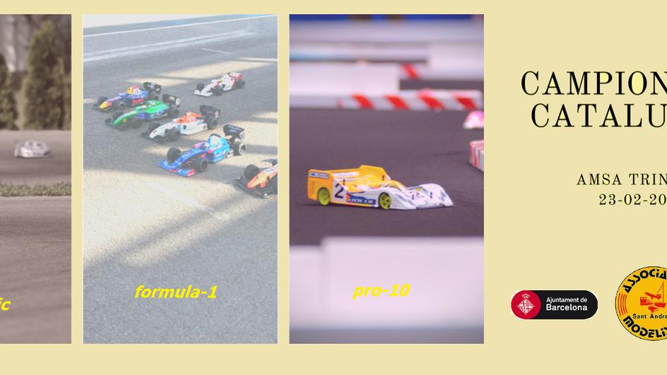 1a PROVA CCTE 23/02/20 (Touring EP + Pro10 + Formula-1) al Cicuit Municipal AMSA Trinitat