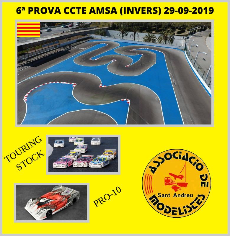 6a PROVA CCTE 29/09/19 (Touring EP + Pro10) CIRCUIT MUNICIPAL AMSA TRINITAT