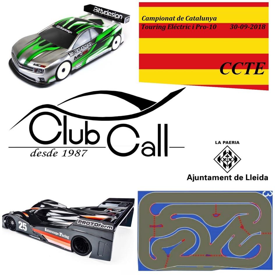 4a PROVA CCTE 30/09/18 (Touring EP + Pro10) al Club Call (lleida)