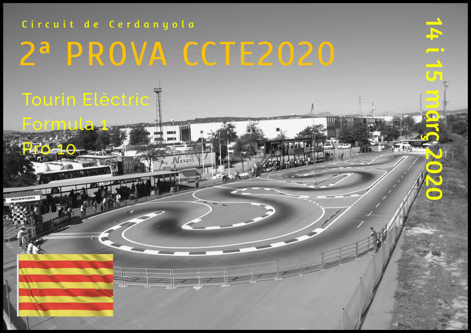 2a PROVA CCTE 15/03/20 (Touring EP + Pro10 + Formula-1) al Cicuit RC Cerdanyola