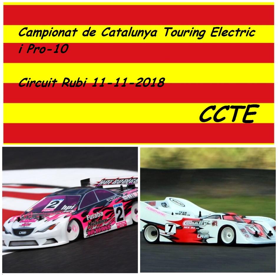 5a PROVA CCTE 11/11/18 (Touring EP + Pro10) al Club de Rubi
