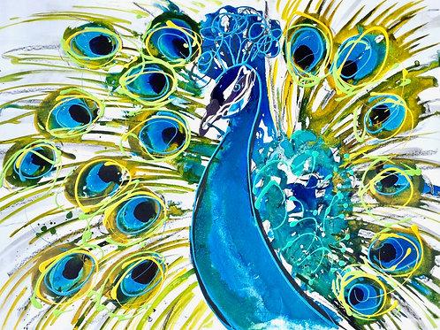 Peacock (PRINT)