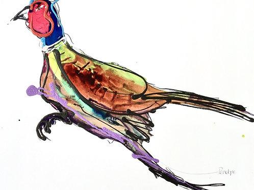 The Running Pheasant