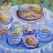 Afternoon Tea ...... 20x20 ins (50x50 cm