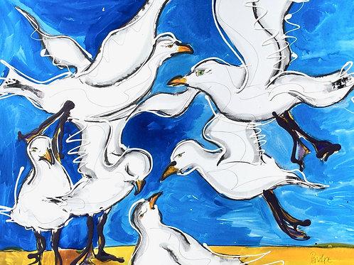 Seagulls (PRINT)