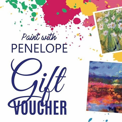 Painting Day Gift Voucher