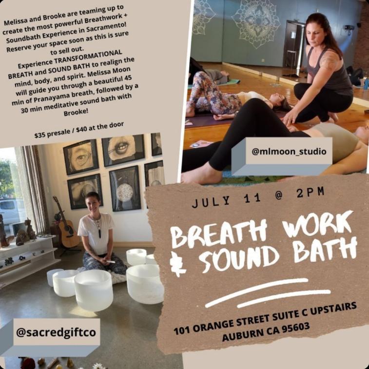 Breath Work & Sound Bath